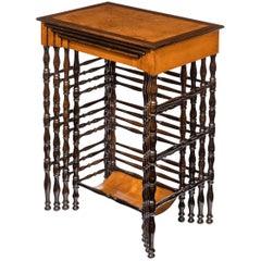 Nest of Regency Specimen Wood Tables by Gillows of Lancaster