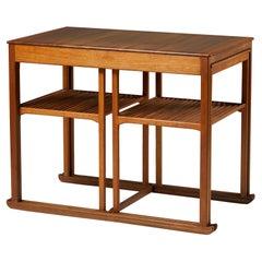 Nest of Tables 'Släden' Designed by Carl Malmsten for Åfors Möbelfabrik