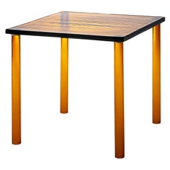 Nesting Large High Table in Amber, by Ronan & Erwan Bouroullec from Glas Italia