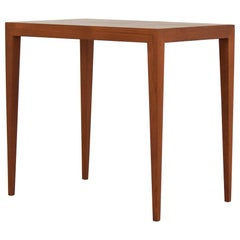 Nesting Table in Teak by Severin Hansen for Haslev Møbelfabrik, Denmark, 1950s