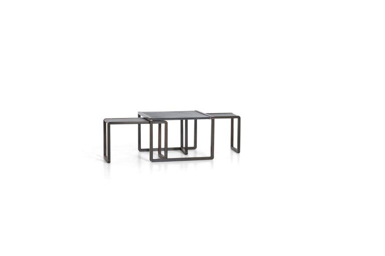 Mid-Century Modern Nesting Tables by Marco Fantoni For Sale