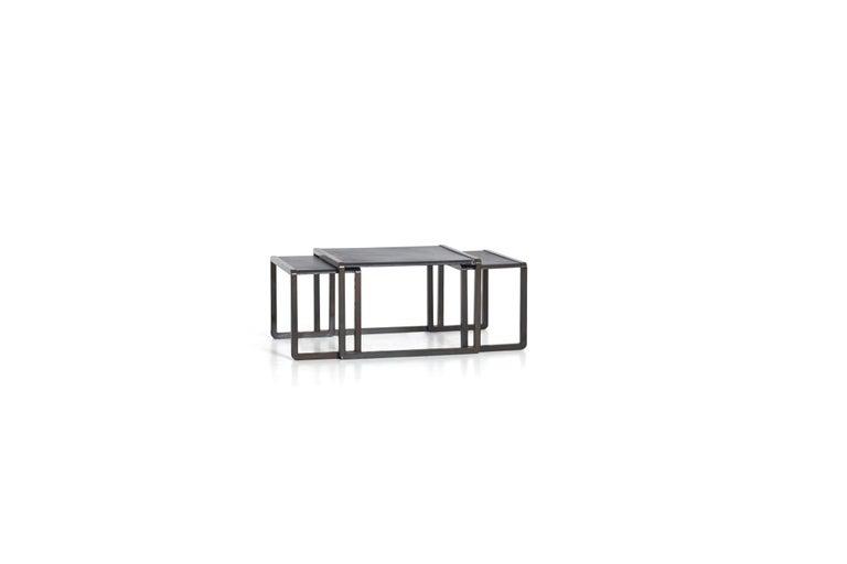 Italian Nesting Tables by Marco Fantoni For Sale
