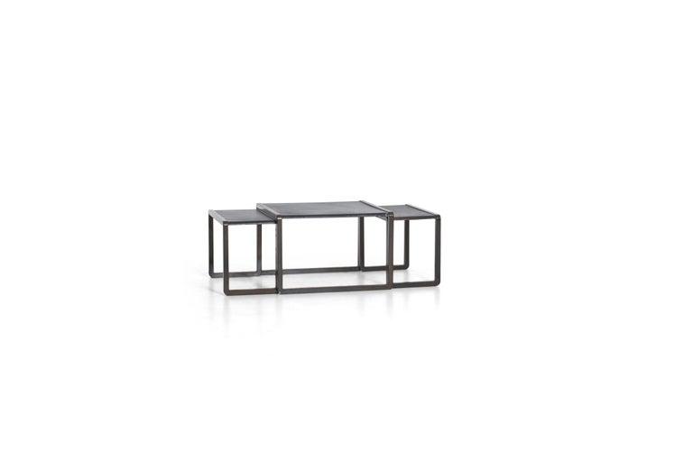 Appliqué Nesting Tables by Marco Fantoni For Sale