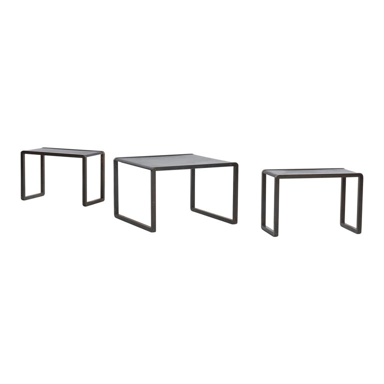 Nesting Tables by Marco Fantoni For Sale