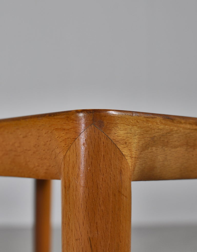 Nesting Tables in Birch by Severin Hansen Jr. for Haslev Møbelfabrik, Denmark For Sale 4