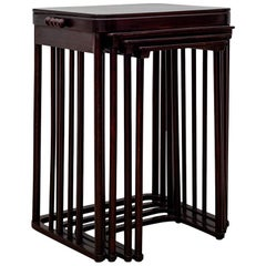 Nesting Tables Josef Hoffmann 1905 Jakob & Josef Kohn Model No. 986
