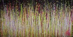 A closer look (Garden luminance), Painting, Acrylic on Canvas