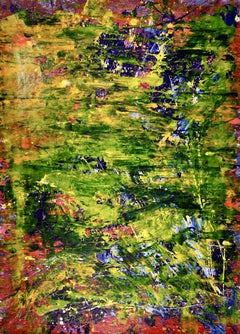 A closer look (Lush forest imagery) by Nestor Toro, Painting, Acrylic on Canvas