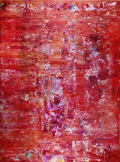 A coral room (coral spectra), Painting, Acrylic on Canvas