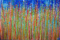 Awakening garden 3, Painting, Acrylic on Canvas