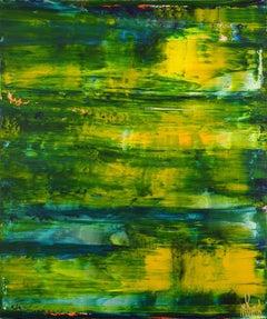Caribbean dawn panorama, Painting, Acrylic on Canvas