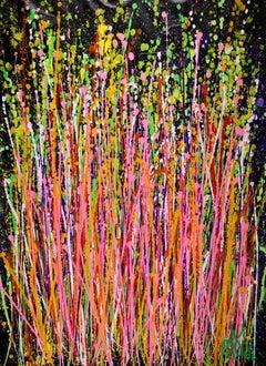 Consciousness Garden, Painting, Acrylic on Canvas