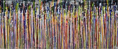 Daydream panorama (Natures imagery) 12, Painting, Acrylic on Canvas