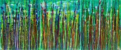 Daydream panorama (Natures imagery) 13, Painting, Acrylic on Canvas