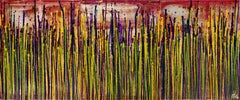 Daydream panorama (Natures imagery) 14, Painting, Acrylic on Canvas
