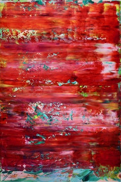 Fire rhythms Inspired by nature!, Painting, Acrylic on Canvas