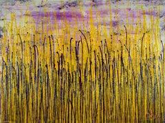 Garden in motion 3 (Autumn), Painting, Acrylic on Canvas