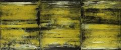 Golden sand terrain, Painting, Acrylic on Canvas