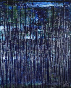Nighttime fearlessness 5, Painting, Acrylic on Canvas