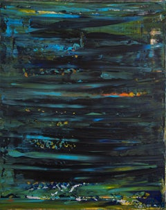 Nocturn panorama 2, Painting, Acrylic on Canvas