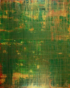 On solid ground (Iridescent spectra), Painting, Acrylic on Canvas
