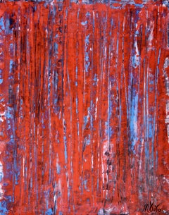 Red spectra (USA), Painting, Acrylic on Canvas