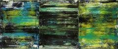 Sky walking terrain, Painting, Acrylic on Canvas