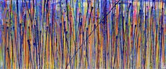 Translucent panorama (Natures imagery) 1, Painting, Acrylic on Canvas