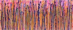 Translucent panorama (Natures imagery) 2, Painting, Acrylic on Canvas