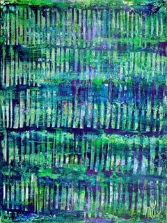 Verdor infinito (Infinite greenery), Painting, Acrylic on Canvas