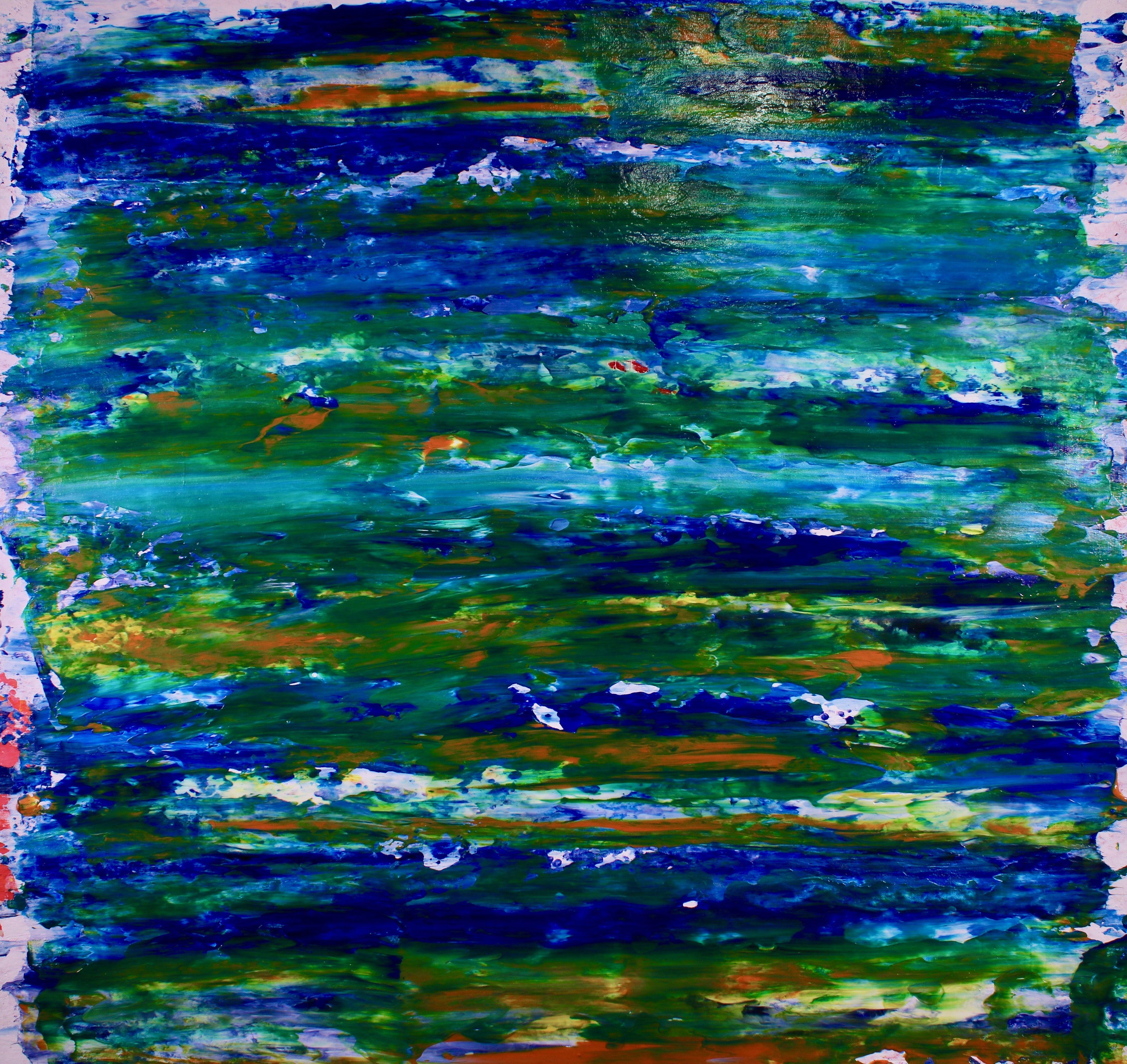 Visionary Terrain 5, Painting, Acrylic on Canvas