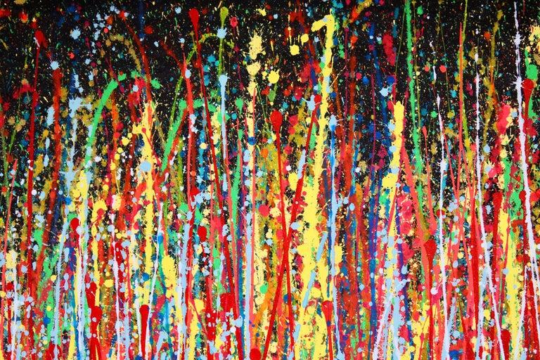 Wonder Garden, Painting, Acrylic on Canvas For Sale 1