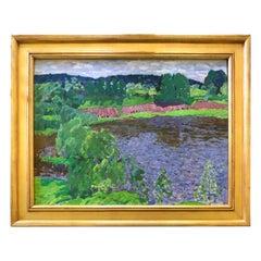 """""""Nestos River Valley"""" by Nikolai Efimovich Timkov"""