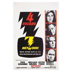 Network 1976 Belgian Film Poster