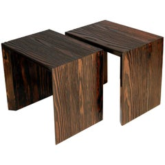 """""""Neuland"""" Artist Series Side Tables, 21th Century"""