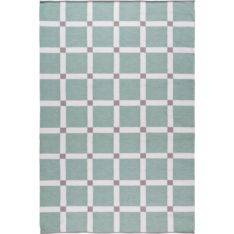 Neutra Mint 9x6 Outdoor Rug In Perennials Yarn By The Company For