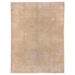 Neutral Indian Amritsar Carpet, circa 1930s