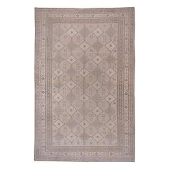 Neutral Turkish Oushak Carpet