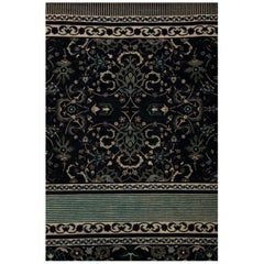 NeuvoClassic #8, Hand Knotted Area Rug New Zealand Wool, by Thirty Six Knots