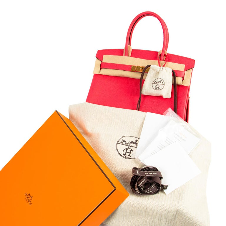 Never Used  Never Used Hermes Birkin 30 Epsom GHW  Spring is here with this beautiful