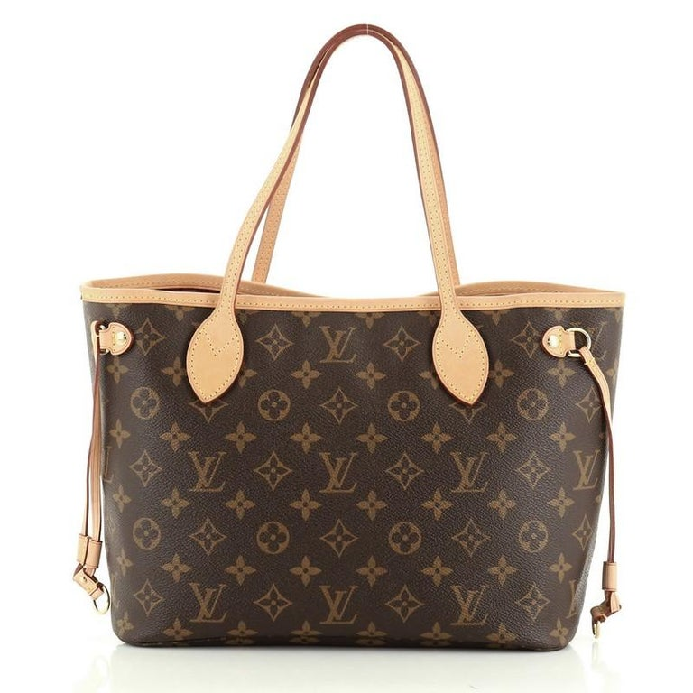 Neverfull NM Tote Monogram Canvas PM In Good Condition In New York, NY