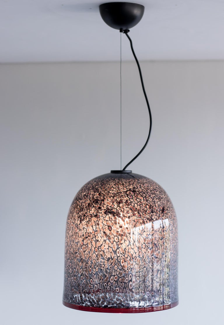 Mid-Century Modern Neverrino Pendant by Gae Aulenti For Sale