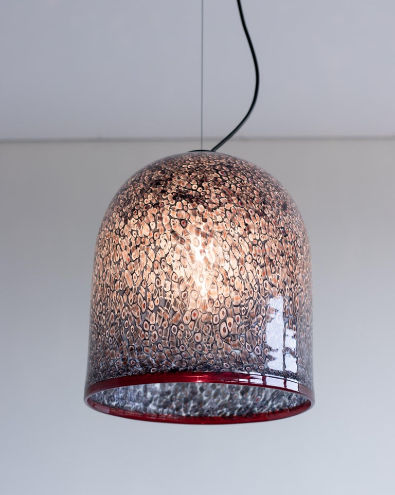 Steel Neverrino Pendant by Gae Aulenti For Sale