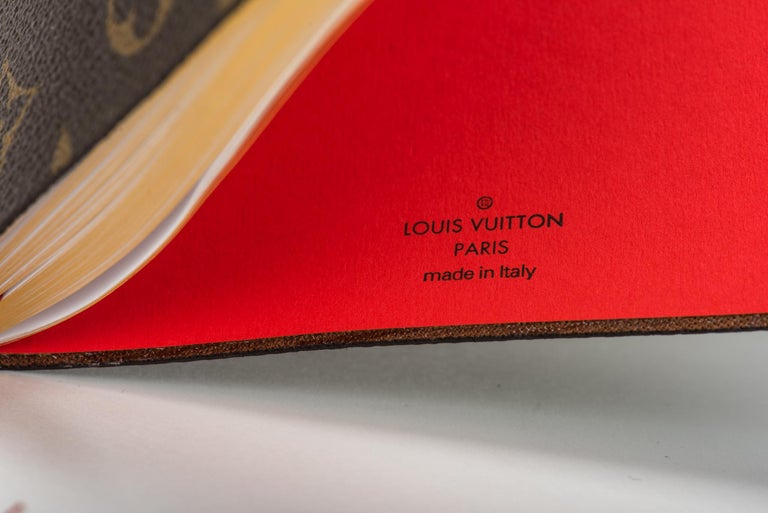 New 2018 Louis Vuitton Kabuki Mask Notebook For Sale 3