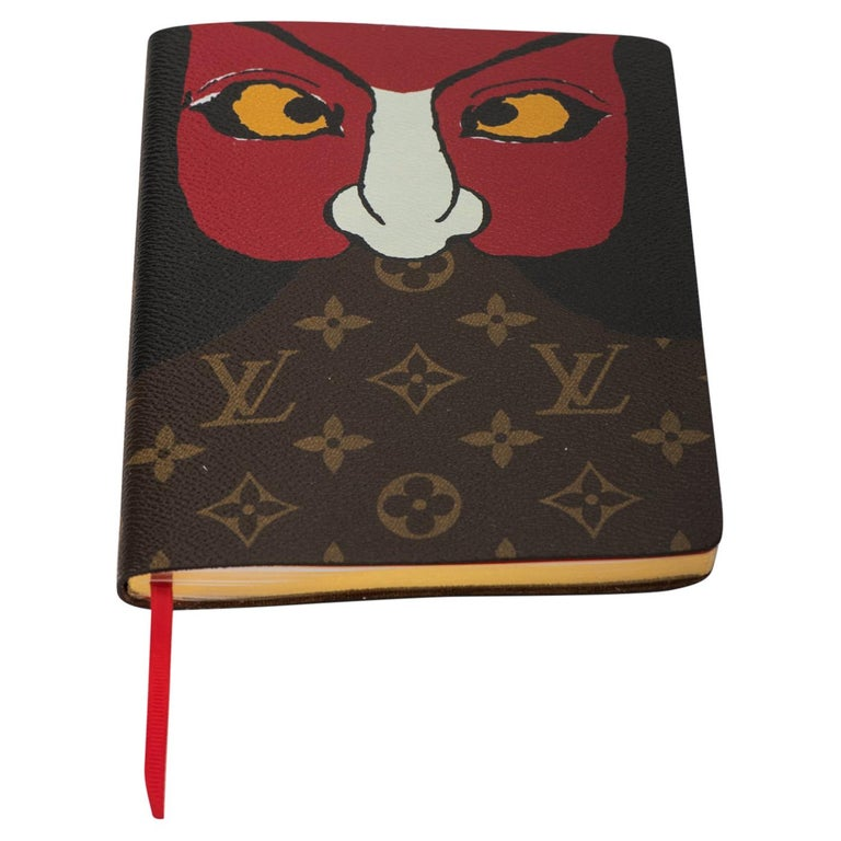 New 2018 Louis Vuitton Kabuki Mask Notebook For Sale
