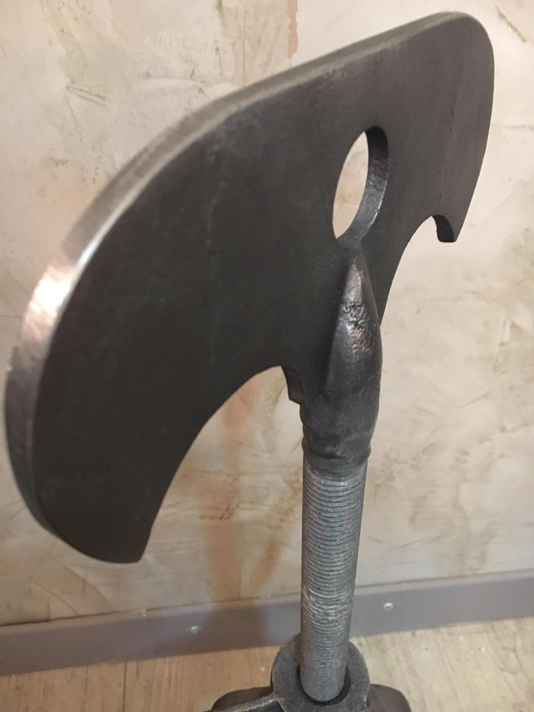 New and Made to Order Giant Metal Corkscrew For Sale 1