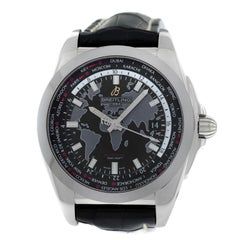 New Authentic Men's Breitling Galactic Unitime Automatic Watch
