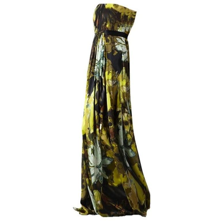 Badgley Mischka Couture Evening Dress Gown