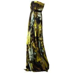 New Badgley Mischka Couture Evening Dress Gown Sz 4