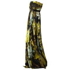 New Badgley Mischka Couture Evening Dress Gown Sz 6
